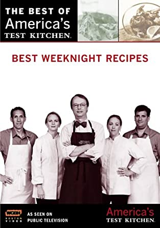 Amazon.com: Best Weeknight Recipes: America's Test Kitchen: ., N/a ...