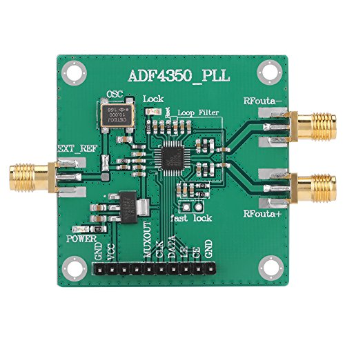 Asixx 137M-4.4GHz RF Signal Source Phase Locking Loop Frequency Synthesizer ADF4350 Development Board Durable Construction for Long-Lasting Performance by Asixx