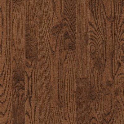 "000988010695 - Bristol 2.25"" Solid Red / White Oak Flooring in Saddle carousel main 0"