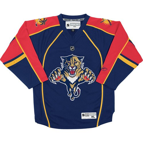 Reebok Florida Panthers Youth Replica Home Jersey – DiZiSports Store