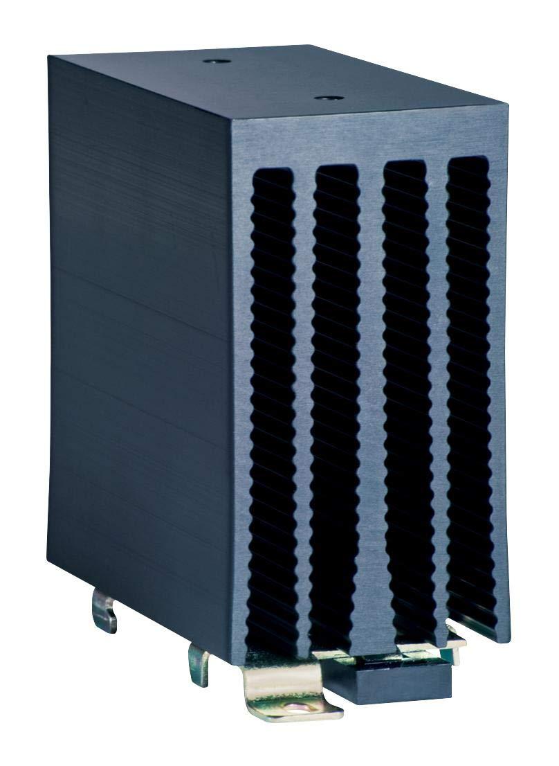 HS201DR - Heat Sink, HS Series, 2 C/W, DIN Rail, 81.3 mm, 80 mm, 45.2 mm (HS201DR)
