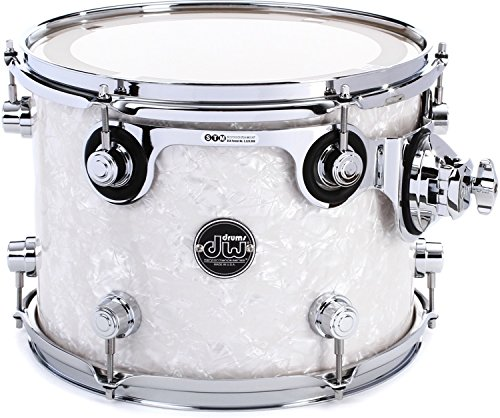 DW Performance Series Mounted Tom - 9 Inches X 12 Inches White Marine FinishPly by DW