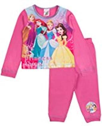 Fille Disney Princess la Petite Sir/ène Ariel Pyjama Pyjama Pyjamas V/êtements de Nuit