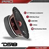 """DS18 PRO-X6.4BM Loudspeaker - 6.5"""", Midrange, Red"""