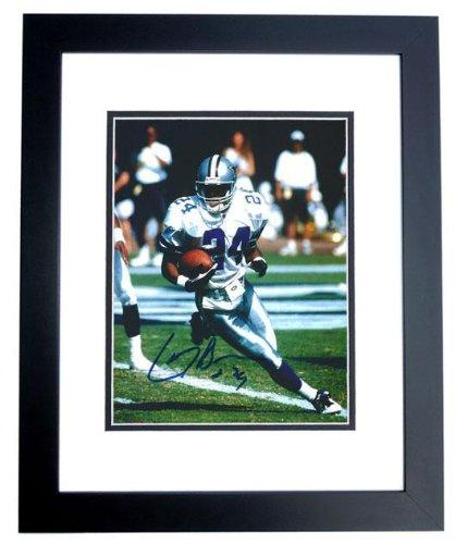 Larry Brown Super Bowl Mvp - Larry Brown Autographed Dallas Cowboys 8x10 Photo BLACK CUSTOM FRAME - Super Bowl MVP - PSA/DNA Certified