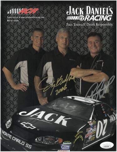 Richard Childress & Jimmy Bedford dual signed NASCAR for sale  Delivered anywhere in USA