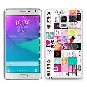 New Fashionable And Durable Designed Case For Samsung Galaxy Note Edge With Hollister 5 White Phone Case