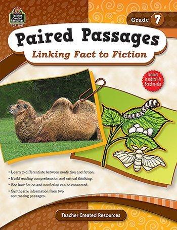Pairot Passages Linking Fact To Fiction Grade 7 -- Case of 3 by Teacher Created Resources B018REIHZA | Fuxin  | Zuverlässige Leistung  | Spaß