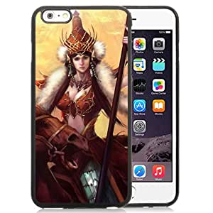 Beautiful And Unique Designed With Girl Leader Fur Horse Army For iPhone 6 Plus 5.5 Inch TPU Phone Case