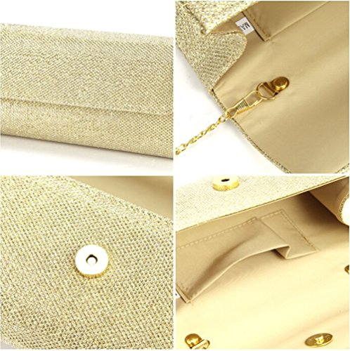 Prom Wedding Party Chain Small Womens Handbag U Bag Tote Shoulder Evening Gold Clutch Story 8qgtKwxpH