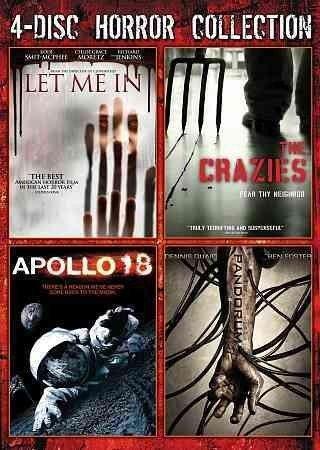 Let Me In (2010) / The Crazies (2010) / Apollo 18 (2011) / Pandorum (2009)