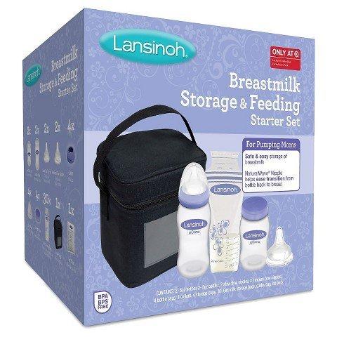 Lansinoh Breastmilk Storage and Feeding Starter Kit