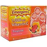 Alacer - Magnesio tropical del aumentador de presión de la energía de la vitamina C 1000