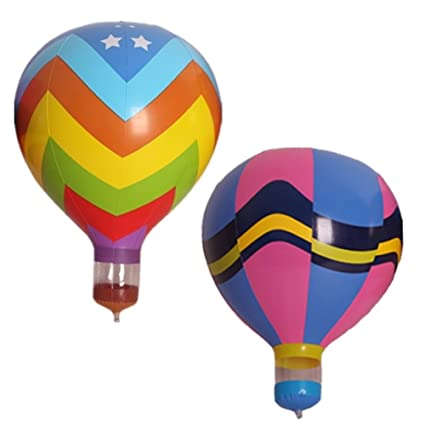 Amazoncom GuassLee 2pcsset Hot Air Balloon Inflatable Hanging
