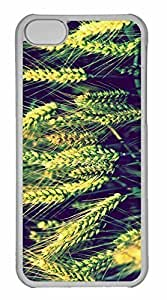 iPhone 5C Case, Personalized Custom Wheat 3 for iPhone 5C PC Clear Case