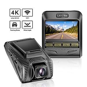 tryace dash cam 4k uhd wifi car dashcam 2 4. Black Bedroom Furniture Sets. Home Design Ideas