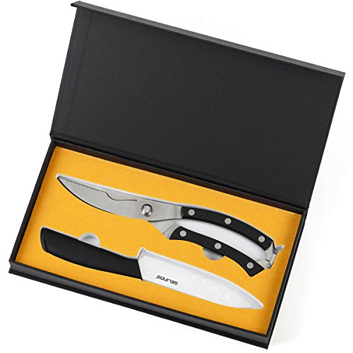 Gelindo Kitchen Scissors Ceramic Knife product image