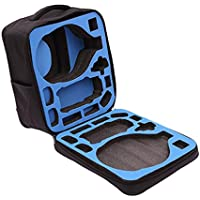 Celendi Waterproof Backpack Large Capacity Shoulder Bag for DJI Mavic Pro RC Drone + DJI VR Goggles (Black)