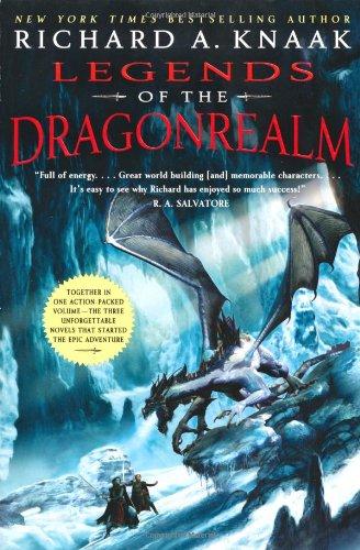 """""""Legends of the Dragonrealm"""" av Richard A. Knaak"""