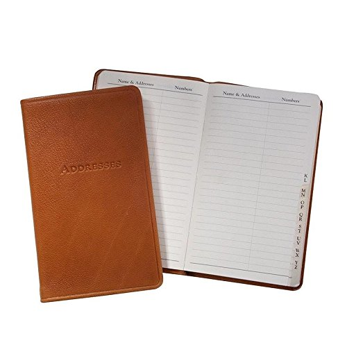 Graphic Image 5 Inch Leather Bound Pocket Address Book, G...