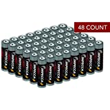 Impecca AA Batteries, All-Purpose Double A Alkaline Battery for Everyday (48-pack) High Performance, Long Lasting Shelf Life, for Clocks, Remotes, Toys & Electronic 48-Count – Platinum Series