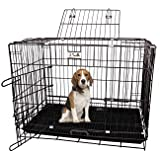 Jainsons Pet Product Metal Dog Cage, 30 Inch