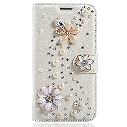 google-pixel-casegoogle-pixel-wallet-case-bling-crystal-rhinestone-butterflies-luxury-pu-leather-fli