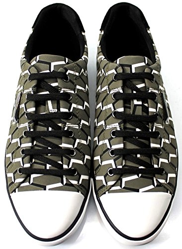 Calvin Klein Beverly Geometric N11418 Sneakers Donna Scarpe Sportive Casual Bass