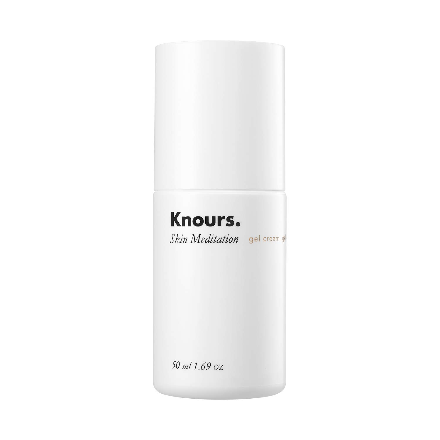 Knours. - Skin Meditation Gel Cream | Natural Lightweight Soothing Hydrating Non-comedogenic Gentle Moisturizer for Sensitive, Oliy and Breakout-prone Skin (50ml/1.69 fl oz.)
