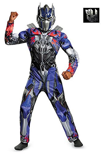 Classic Optimus Girls Costumes (Transformers Optimus Prime Classic Muscle Child Costume (Small))