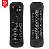 Rii Backlit Fly Mouse 2.4G MX6 Multifunctional Wireless Mini Keyboard and Remote Control With Microphone For KODI,Raspberry Pi 2,3, Android TV/Box/Mini PC,IPTV,HTPC,Android,Windows,MAC