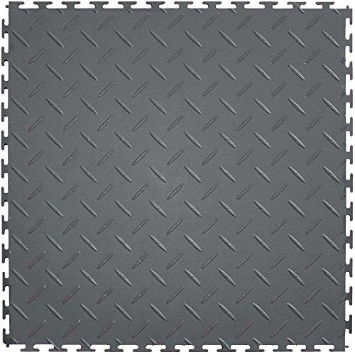Plate Vinyl Flooring Diamond (IT Tile ITDP450DG45 Diamond Plate)