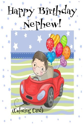 Buy Happy Birthday Nephew Coloring Card Personalized Birthday Card For Boys Inspirational Messages Images Book Online At Low Prices In India Happy Birthday Nephew Coloring Card Personalized Birthday Card For