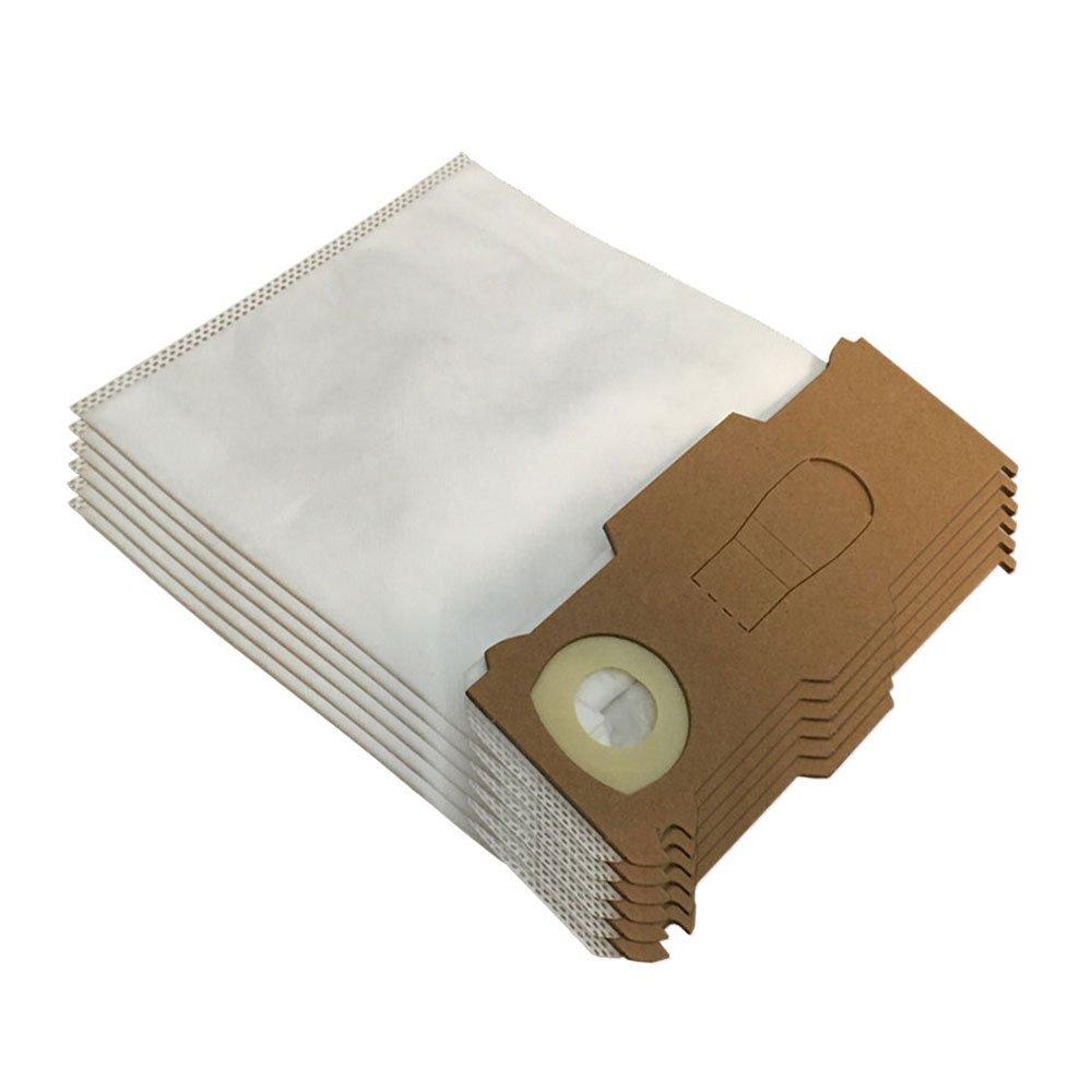 Filtro Hepa//Epa e Filtro Odori per Aspirapolvere Vorwerk Folletto Kobold Vk 130 6 Profumini Kit da 6 Sacchetti di Microfibra Vk130 131 Sc Vk131