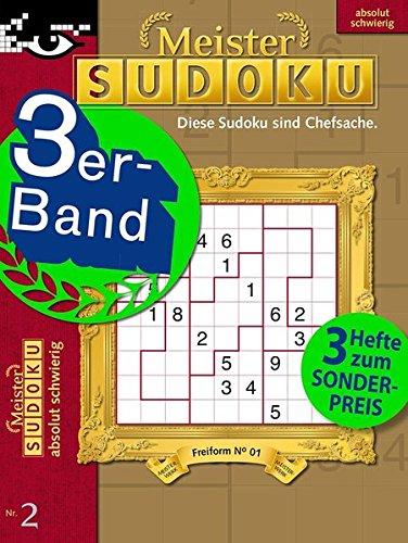 Meister-Sudoku 3er-Band Nr. 2