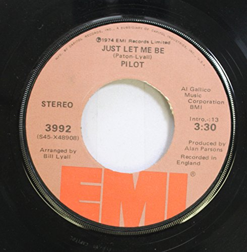 (Paton-Lvail 45 RPM Just Let Me Be / Magic)