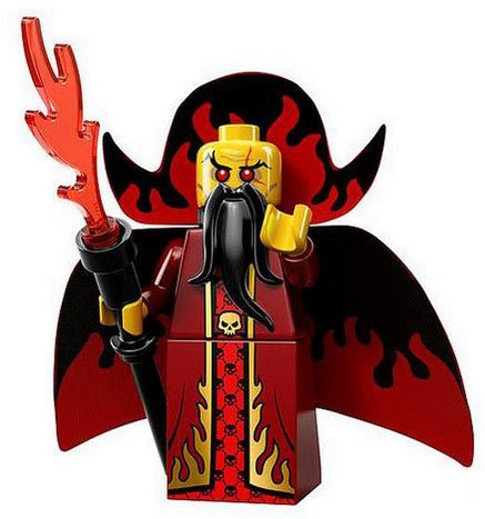LEGO Minifigures Series 13 Evil Wizard Construction Toy