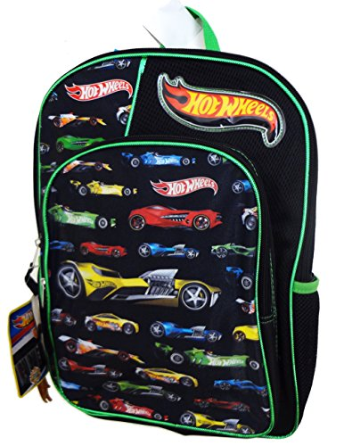 mattel-boys-hotwheels-backpack-black