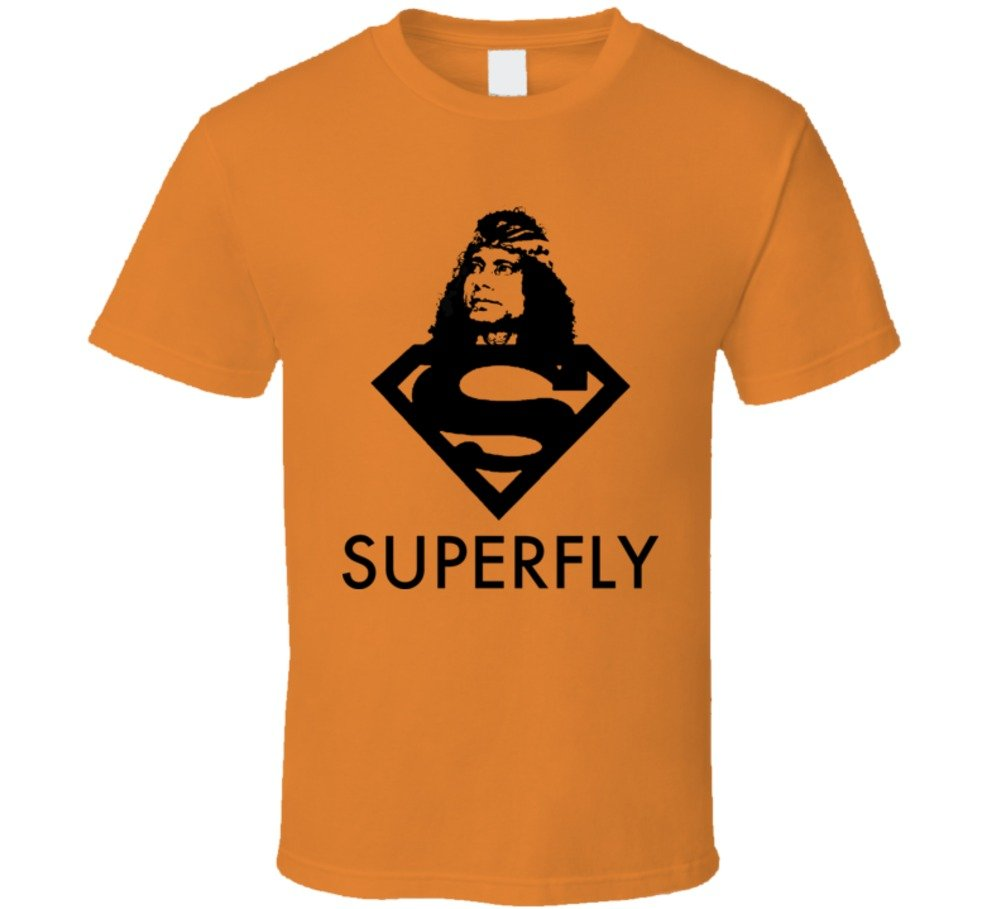 Perfect Fit T Shirts Superfly Jimmy Snuka Wrestling T Shirt 3XL Orange by Perfect Fit T Shirts