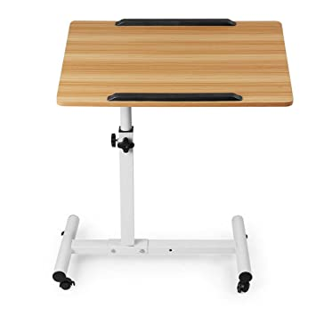 DPS&RXX Carrito de pie portátil, Stand Desk Converter Sentarse Escritorio móvil con Altura Ajustable ergonómico
