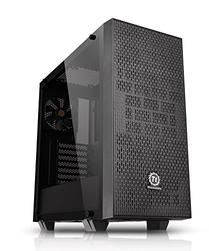 Thermaltake Core G21 Tg Mid Tower Pc Case  2 Surface Tempered Glass Panel And Front Mesh Panel  Cs6928 Ca   1I4   00 M1wn   00