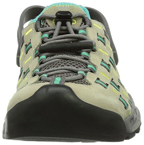 Salewa WS CAPSICO 00-0000063321 - Zapatillas de montaña de cuero para mujer, color beige, talla 35 Beige (Beige (Juta/Kitten 0773))