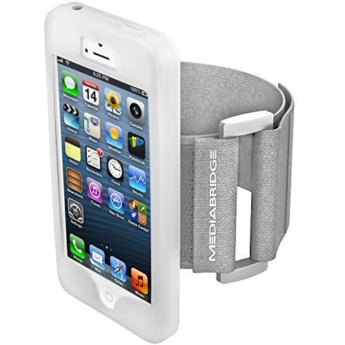 / iPhone 4S ( Clear ) - Model AB1 by Mediabridge (Part# AB1-I4-CLEAR ) - Premium Glass Screen Protector Included ($7.99 Value) ()