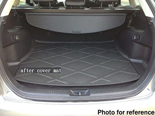 Car Mat Car Boot Pad Carpet Cargo Mat Trunk Cargo Liner Cargo Tray Floor Mat Custom Fit for Ford Escape 2013 2014 2015 2016 2017 2018 2019 KT