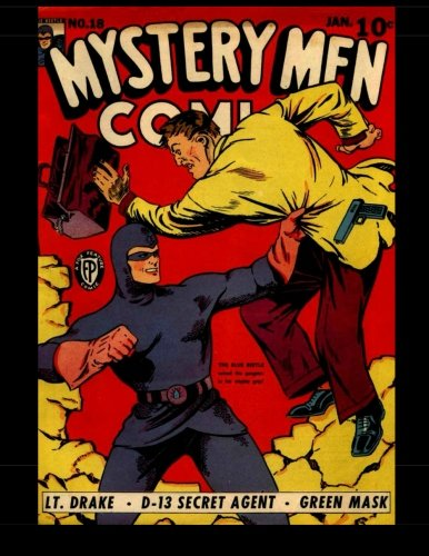Mystery Men Comics #18: Golden Age Mystery! 1941 ebook