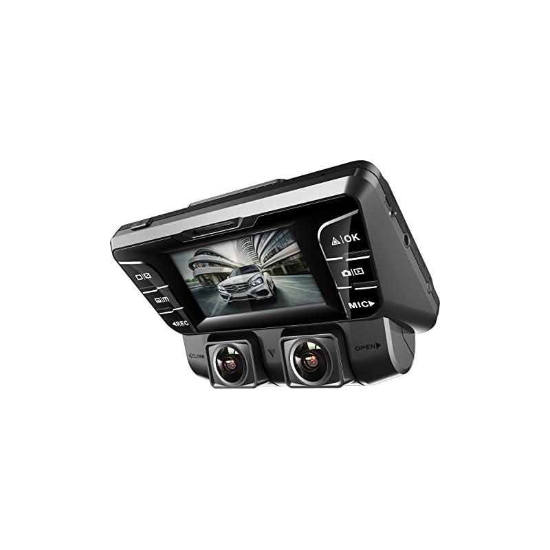 Pruveeo C2 Dual Dash Cam 1920x1080P Fron