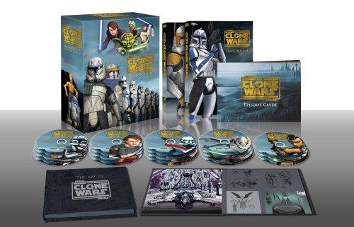 Buy star wars the clone wars complete series seasons 1-6 dvd box set