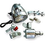 JRL 12V 6W Motorized Bicycle Head Tail Lamp Friction Generator Dynamo Light Kit Suit