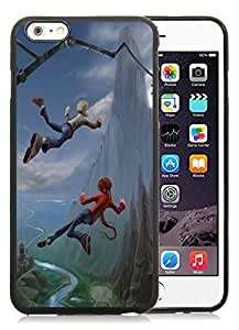 Fashionable And Unique Designed With Leap of Faith Cover Case For iPhone 6 Plus 5.5 Inch Black Phone Case CR-357