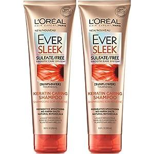 L'Oréal Paris Hair Care EverSleek Keratin Caring Shampoo